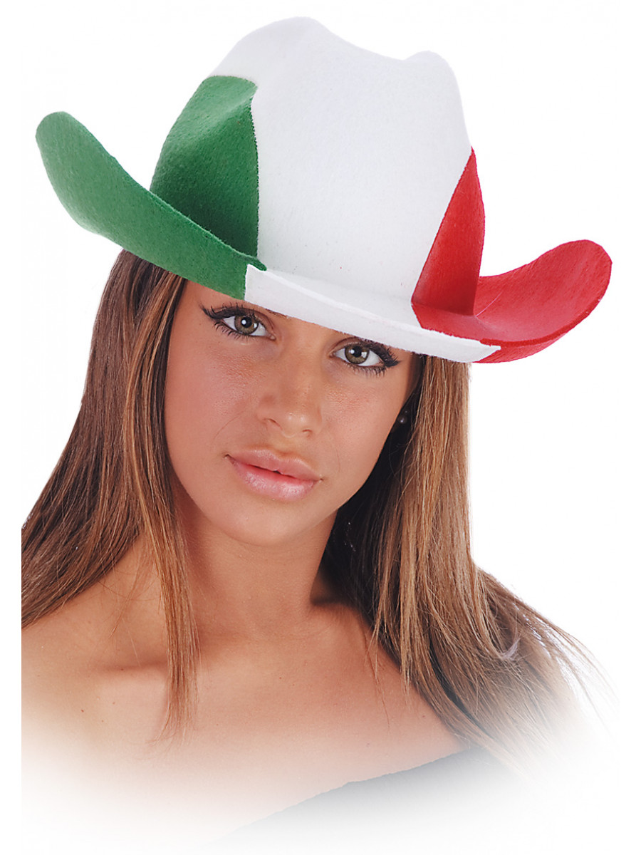 CAPPELLO COW-BOY ITALIA IN FELTRO