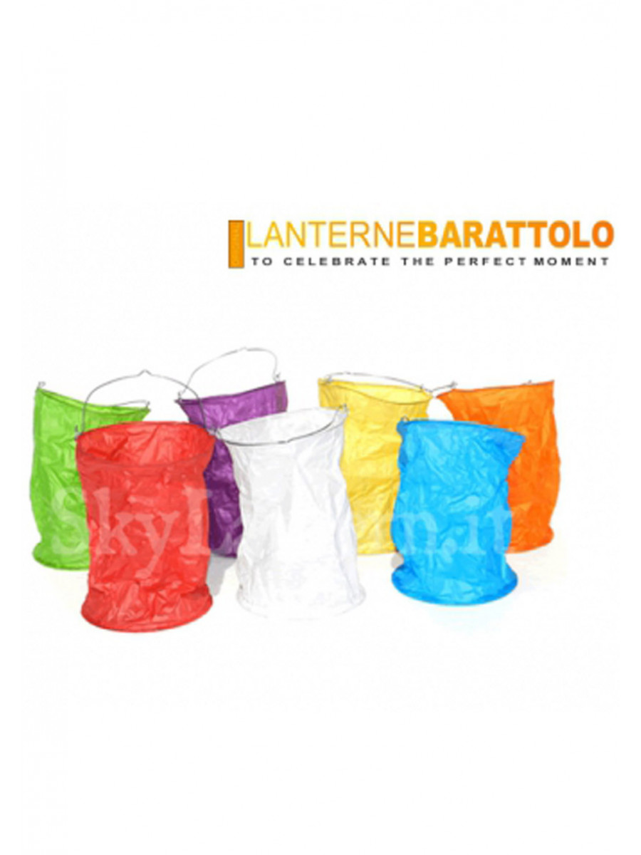 2 LANTERNE BARATTOLO BIANCHE