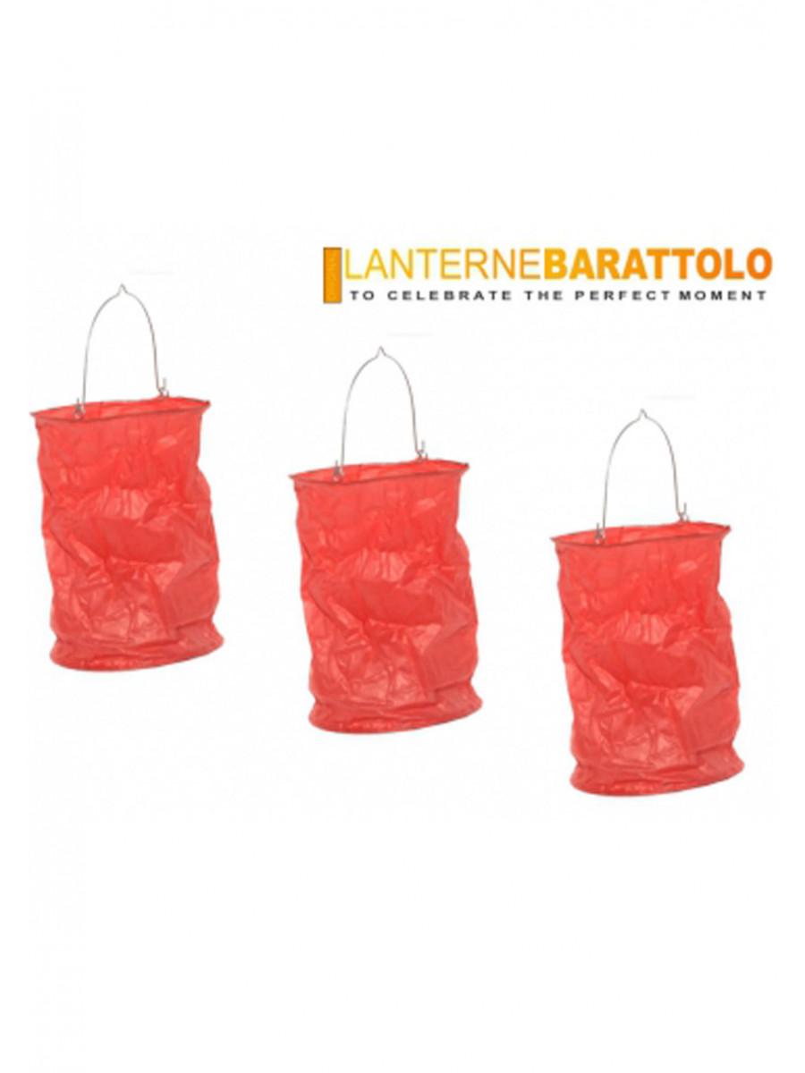 2 LANTERNE BARATTOLO ROSSE