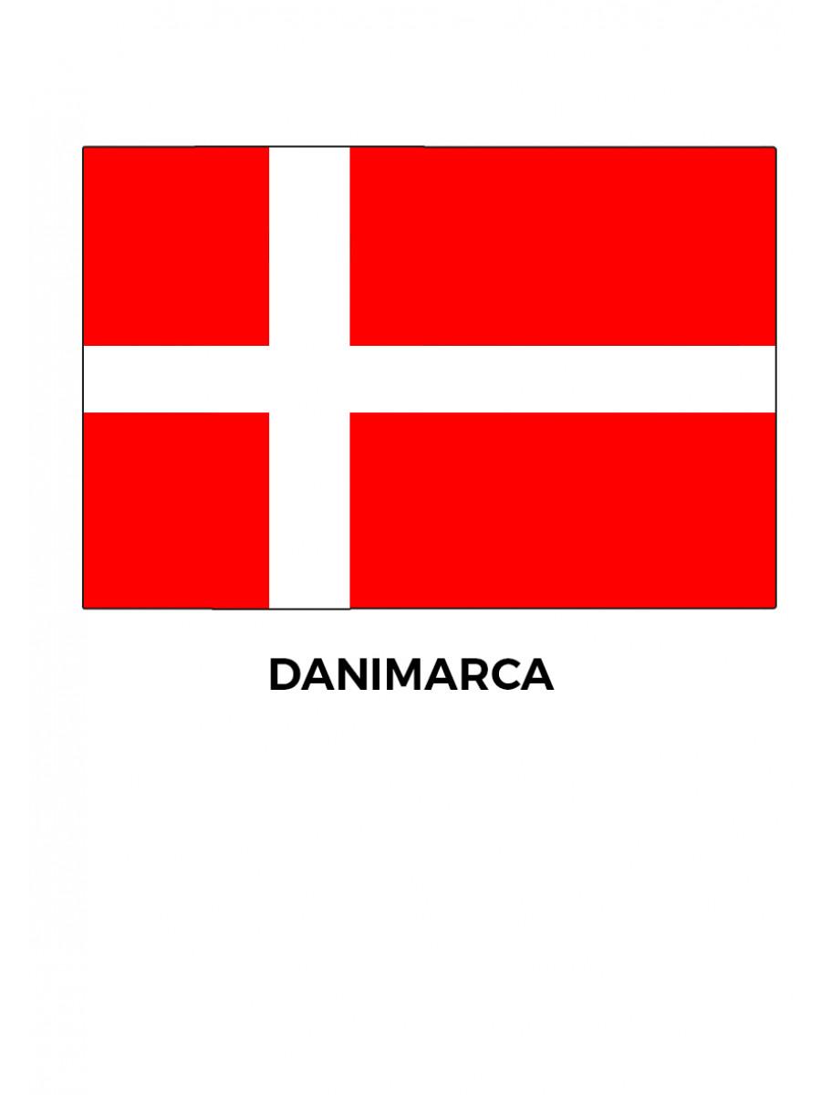 BANDIERA DANIMARCA CM.100x150
