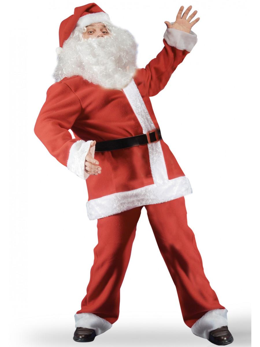 Babbo In Costume A Natale Unica Da Tagli Pile RwTFO5q
