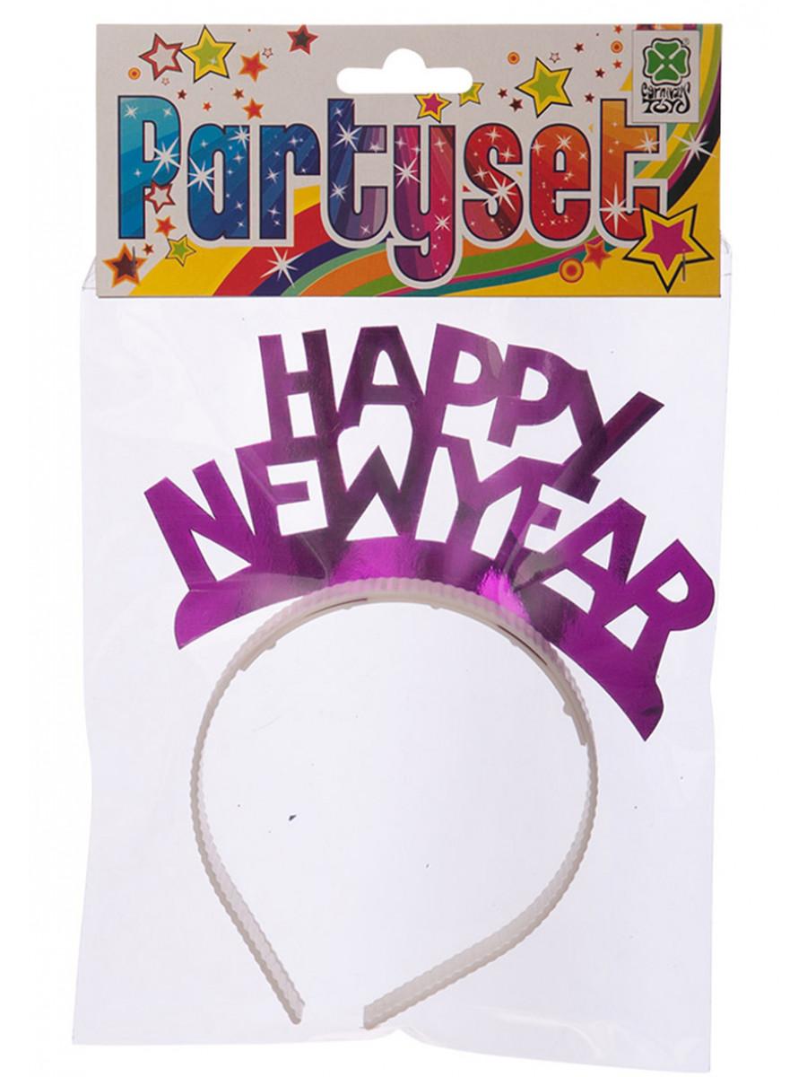 CERCHIETTO HAPPY NEW YEAR COLORI ASSORTITI