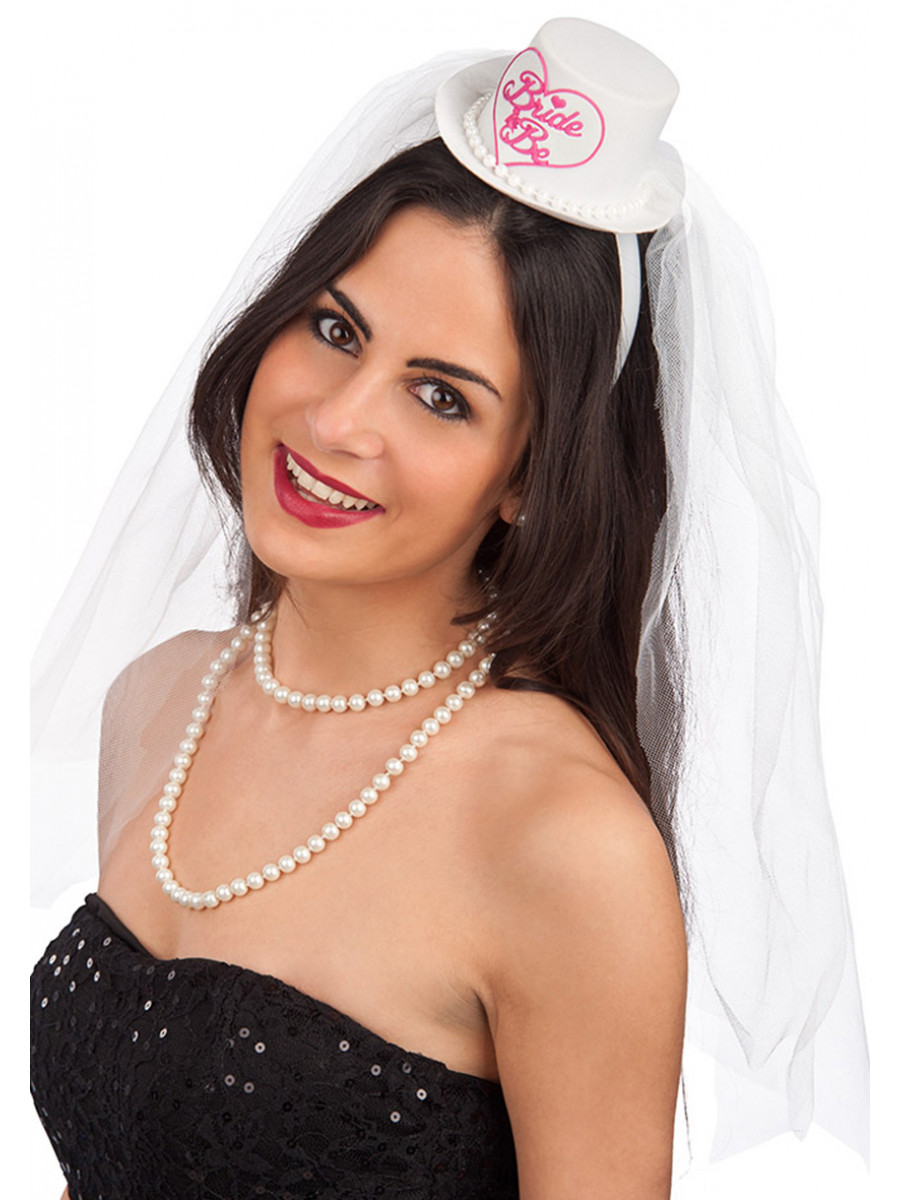 MINI CAPPELLO BRIDE TO BE