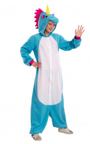COSTUME UNICORNO IN PILE