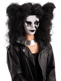 Maschera vampira con decorazioni in silicone