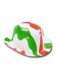 BOMBETTA ITALIA TRICOLORE IN PLASTICA