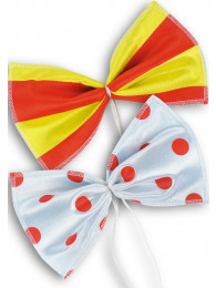 PAPILLON CLOWN CM 24 x 15 STAMPE ASS.TE