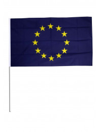 BANDIERINA CM.10x15 UN.EUROPEA CON ASTA