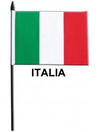 BANDIERINA CM.10x15 ITALIA CON ASTA