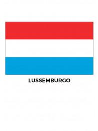 BANDIERA  LUSSEMBURGO CM.100x150