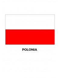 BANDIERA POLONIA CM.100x150