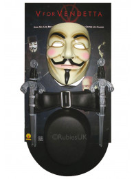 V PER VENDETTA  - KIT TRAVESTIMENTO