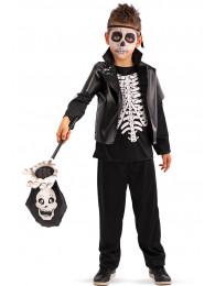 Mano scheletro dolcetto/scherzetto l.cm.53 ca. c/cartellino/etichetta