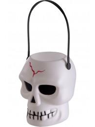Cestino scheletro in plastica h.cm.16 ca. c/cartellino/etichetta