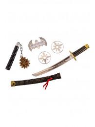 Armi ninja (pz.5) in busta c/cav.