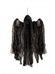 Fantasma nero senza viso d'appendere h.cm.50 ca. c/cartellino/etichetta