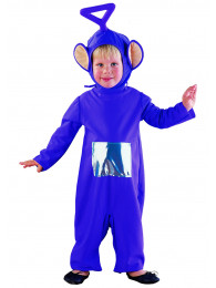 COSTUME TELETUBBIES TINKY-WINKY 5/7 ANNI