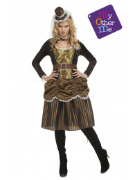 COSTUME STEAMPUNK DONN TAGLIA ML