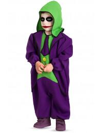 Costume Crazy clown baby TG III