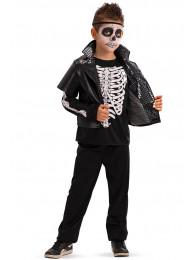 Costume scheletro dance bimbo T.U. (VII-VIII) in busta c/gancio