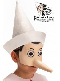 MASCHERA PINOCCHIO MEZZO VISO