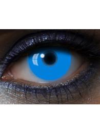 LENTI A CONTATTO UV GLOW BLU